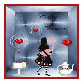 Fiesta del té de la fiesta de bienvenida al bebé anuncios personalizados