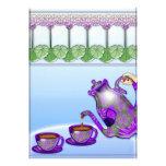 Fiesta del té de las señoras (invitación adaptable