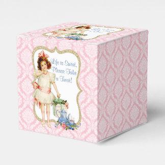 Fiesta del té de los chicas caja para regalos de fiestas