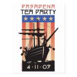 Fiesta del té de Pasadena Tarjetas Postales