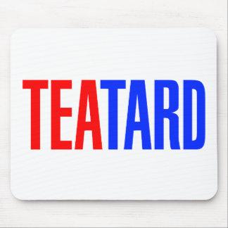 Fiesta del té de Teatard Alfombrillas De Ratones