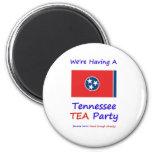 ¡Fiesta del té de Tennessee - ya nos gravan bastan Imanes