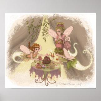Fiesta del té del duendecillo impresiones