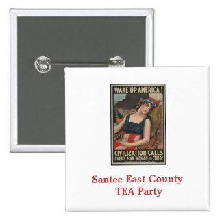 Fiesta del té del este del condado de Santee Pin Cuadrado