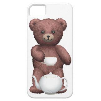 Fiesta del té del oso de peluche funda para iPhone SE/5/5s