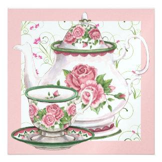 Fiesta del té elegante - SRF Comunicados Personales