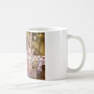 Fiesta del té enojada taza clásica