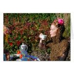 Fiesta del té felicitaciones