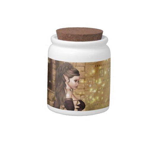 Fiesta del té jarra para caramelo