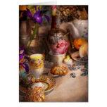 Fiesta del té - la magia de una fiesta del té tarjetas