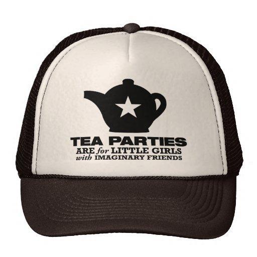 fiesta del té - las fiestas del té están para las  gorras