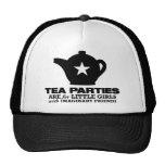 fiesta del té - las fiestas del té están para las  gorras de camionero