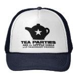 fiesta del té - las fiestas del té están para las  gorra