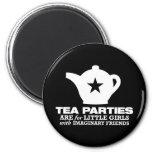 fiesta del té - las fiestas del té están para las  iman de nevera