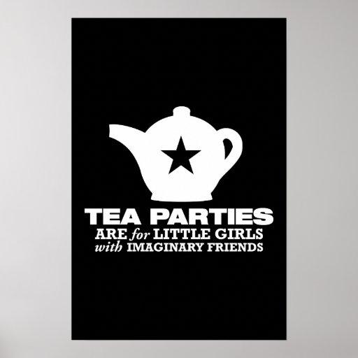 fiesta del té - las fiestas del té están para las  poster