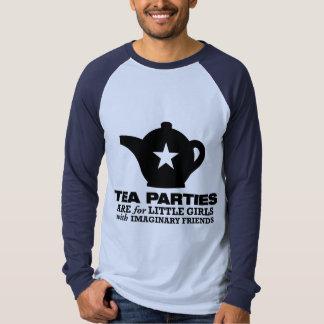 fiesta del té - las fiestas del té están para las playera