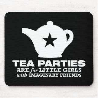 fiesta del té - las fiestas del té están para las  mousepads