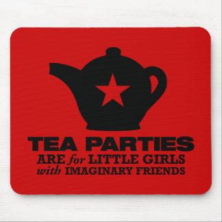 fiesta del té - las fiestas del té están para las  alfombrilla de ratones