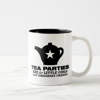 fiesta del té - las fiestas del té están para las  tazas de café