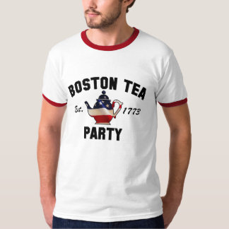 Fiesta del té Massachusetts 1773 de Boston Playera