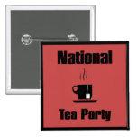 Fiesta del té nacional pins