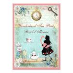 Fiesta del té nupcial de la ducha de Alicia y del Invitaciones Personales