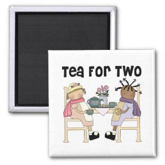 Fiesta del té para dos iman