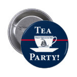 ¡Fiesta del té! Pins