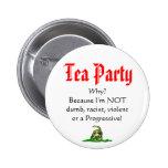 ¿Fiesta del té, POR QUÉ? Pin