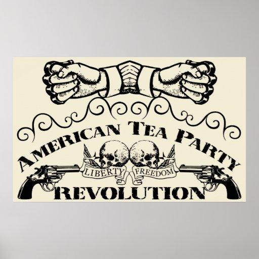 Fiesta del té posters