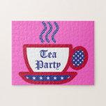 Fiesta del té rompecabezas