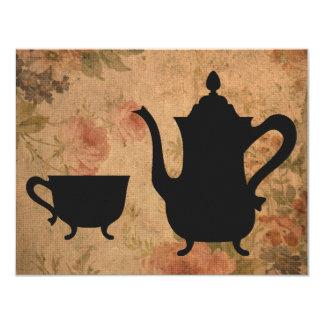 Fiesta del té subió vintage