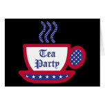 Fiesta del té tarjeta