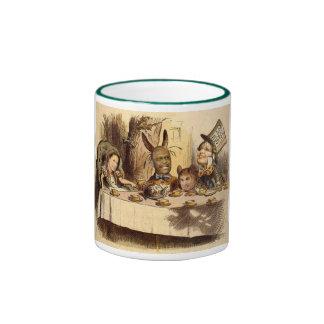 Fiesta del té taza de dos colores