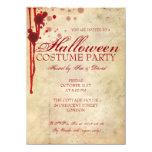 Fiesta del traje de Halloween Invitación 11,4 X 15,8 Cm