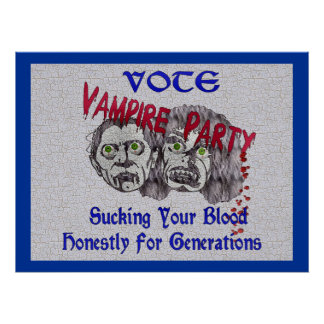 Fiesta del vampiro posters