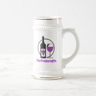 Fiesta del vino rojo de Bachelorette Tazas De Café