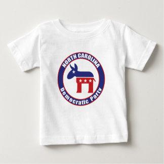 Fiesta Democratic de Carolina del Norte Tee Shirts