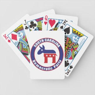 Fiesta Democratic de Carolina del Sur Baraja Cartas De Poker