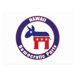 Fiesta Democratic de Hawaii Tarjetas Postales