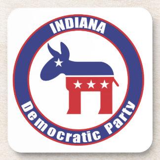 Fiesta Democratic de Indiana Posavasos De Bebida