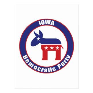 Fiesta Democratic de Iowa Postales