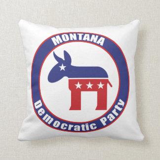 Fiesta Democratic de Montana Cojines