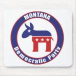 Fiesta Democratic de Montana Tapetes De Ratones