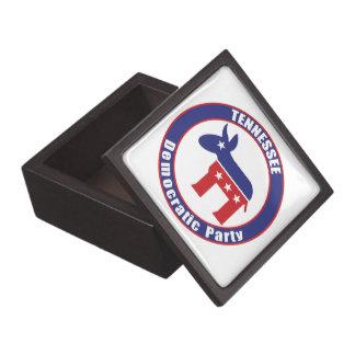 Fiesta Democratic de Tennessee Cajas De Recuerdo De Calidad