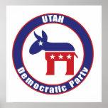 Fiesta Democratic de Utah Poster