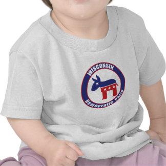 Fiesta Democratic de Wisconsin Camisetas