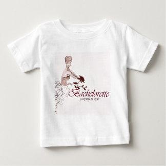 Fiesta elegante del bachelorette playera de bebé