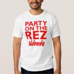 Fiesta en la camisa de Rez - de Nebraska