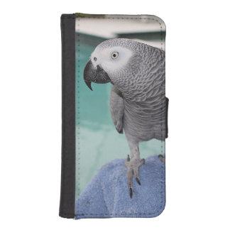 Fiesta en la piscina del gris africano billetera para iPhone 5